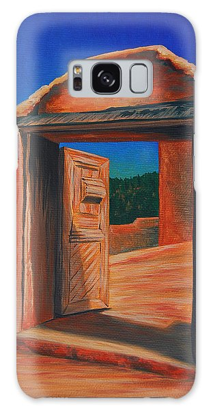 Doorway To Las Trampas Galaxy Case