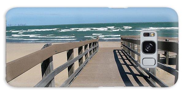 Down To The Beach Galaxy Case by Cedric Hampton