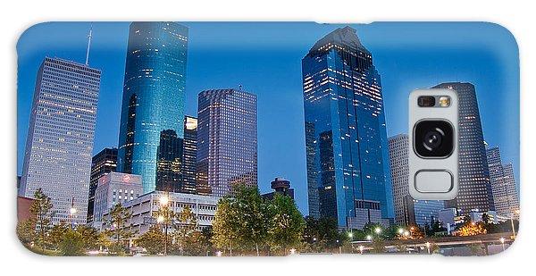 Downtown Houston Galaxy Case