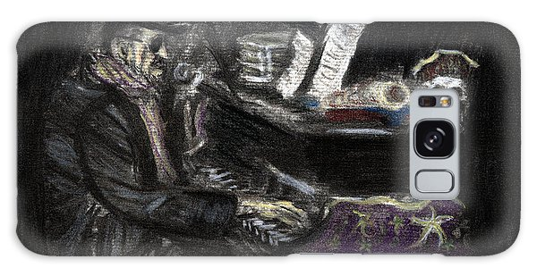 Dr. John In Charcoal And Pastel Galaxy Case