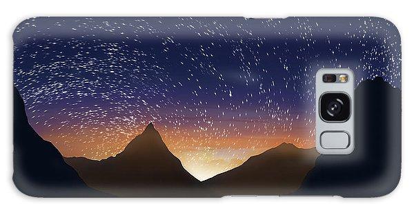Contour Galaxy Case - Dramatic Landscape  by Setsiri Silapasuwanchai