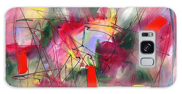 Dreams At Dawn Galaxy Case by Lynne Taetzsch