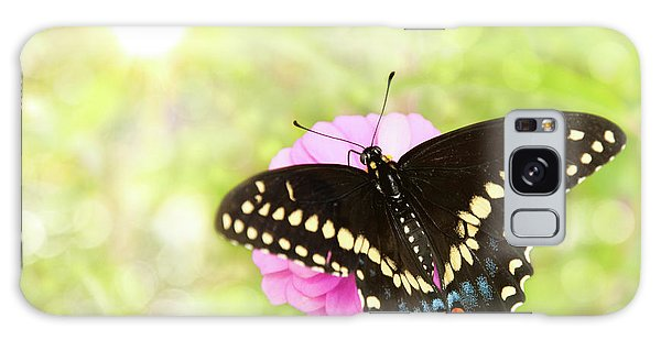 Dreamy Black Swallowtail Butterfly Galaxy Case