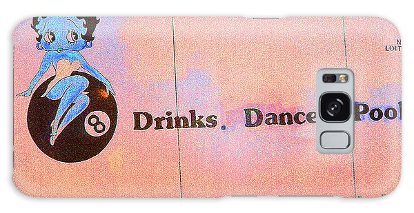 Drink Dance Pool Galaxy Case by Louis Nugent