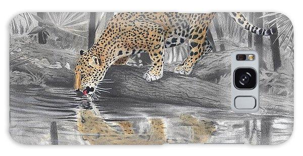 Drinking Jaguar Galaxy Case