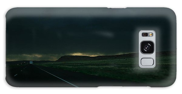 Driving Rain Number One Galaxy Case by Lon Casler Bixby