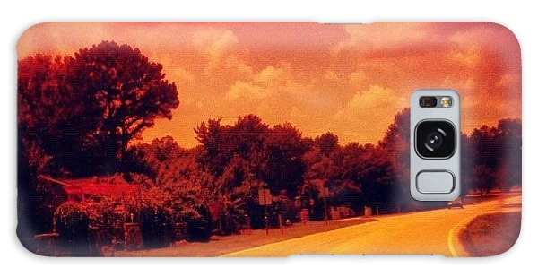 Summer Galaxy Case - #driving #sky #clouds #road #summer by Katie Williams