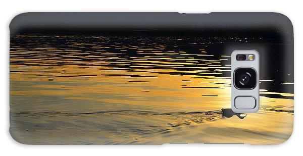 Duck Swimming Galaxy Case