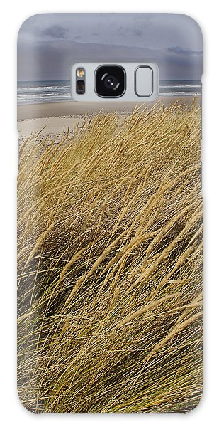Dune Grass On The Oregon Coast Galaxy Case by Mick Anderson