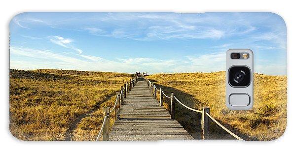 Board Walk Galaxy Case - Dune Walkway by Carlos Caetano