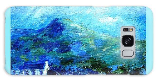 Eagle Hill Lane -ireland  Galaxy Case by Trudi Doyle