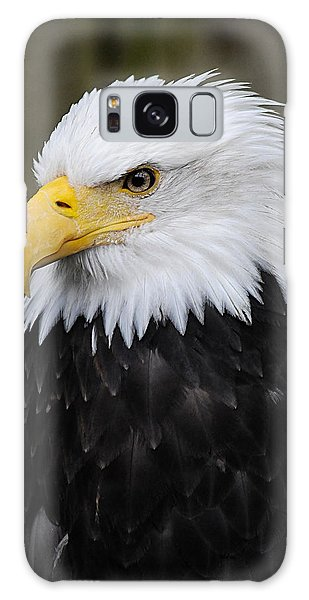Eagle In Ketchikan Alaska 1371 Galaxy Case