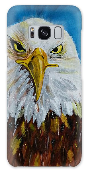 Eagle Galaxy Case by Ismeta Gruenwald
