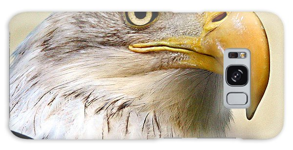 Eagle Portrait Galaxy Case