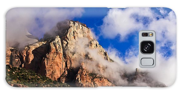 Early Morning Zion National Park Galaxy Case