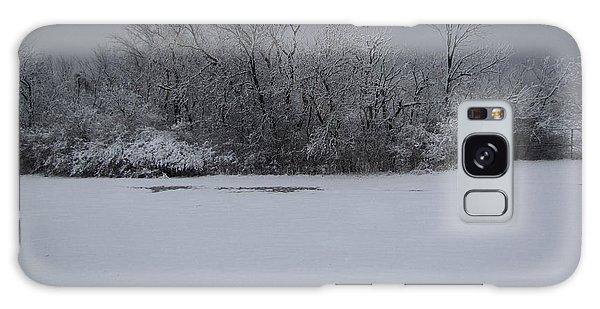 Early Spring Snow Fall Galaxy Case by Cedric Hampton