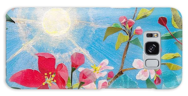 Early Spring Sunshine Galaxy Case by Robin Birrell