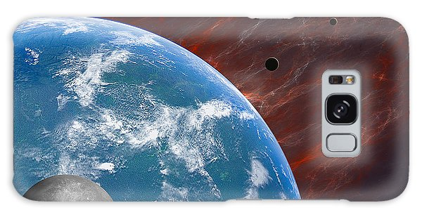 Earth Galaxy Case by Gordon Engebretson