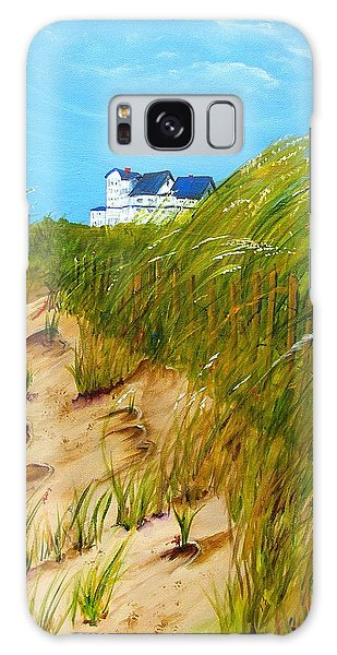 East Beach  Norfolk Va Galaxy Case by Mary Kay Holladay