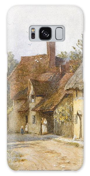 Town Galaxy Case - East Hagbourne Berkshire by Helen Allingham