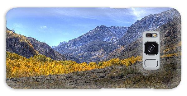 Eastern Sierras In Fall Galaxy Case by Michele Cornelius
