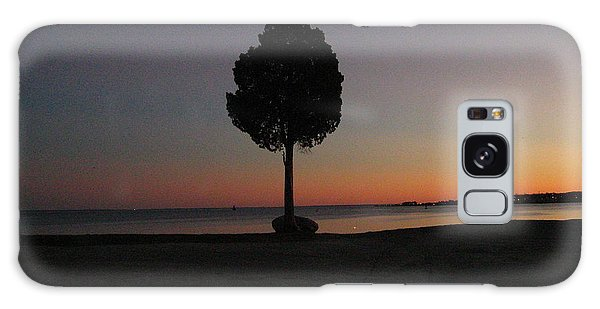 Eastern Sunset And Moon Rise Galaxy Case by Bruce Carpenter