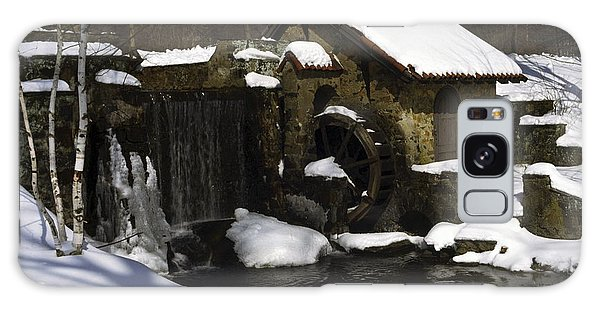 Eastern University Waterwheel Historic Place Galaxy Case by Sally Weigand