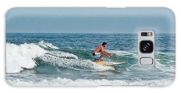 Easy Surfing  Galaxy Case by Ann Murphy