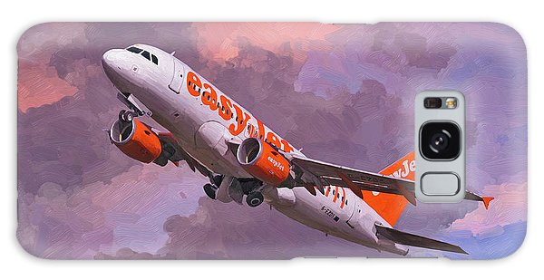easyJet Airbus A319 take off Galaxy Case