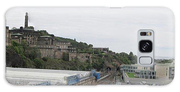 Edinburgh Station Panorama Galaxy Case