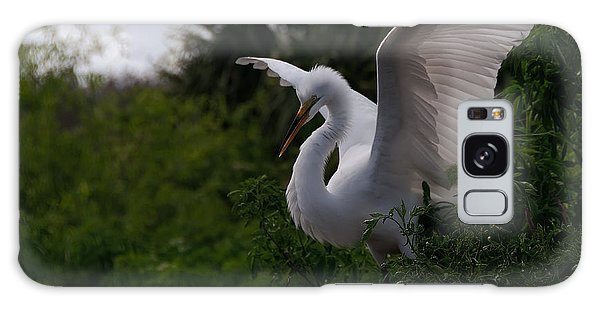 Egret Wings Galaxy Case