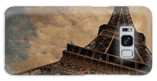 Eiffel Tower 2 Galaxy Case by Mary Machare