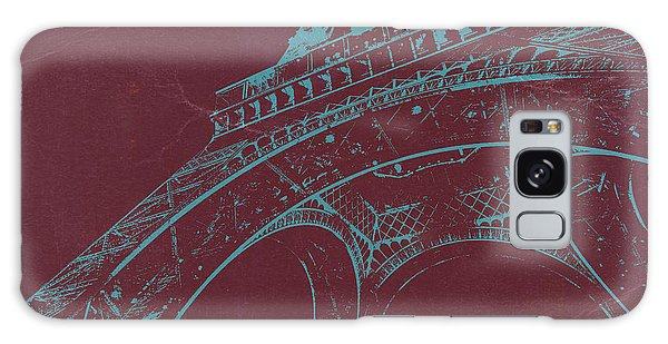 Eiffel Tower Galaxy S8 Case - Eiffel Tower by Naxart Studio