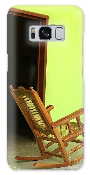 El Quelite Rocking Chair Mexico Galaxy Case