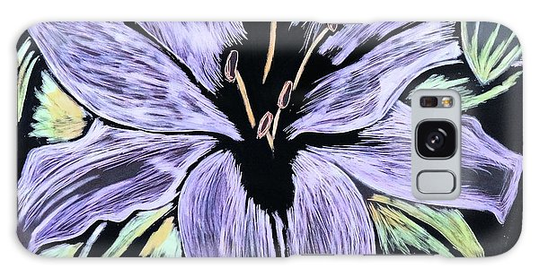 Electric Lily Phase Two Galaxy Case by Lisa Brandel