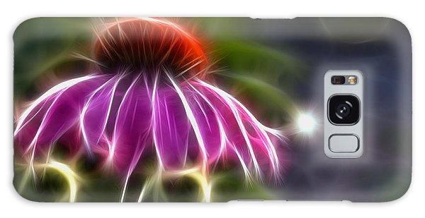 Electrified Coneflower Galaxy Case by Lynne Jenkins