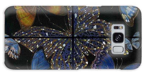 Elena Yakubovich Butterfly 2x2 Galaxy Case