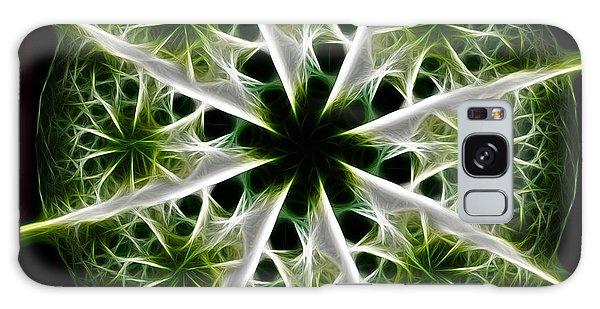 Emerald Tales Galaxy Case by Danuta Bennett