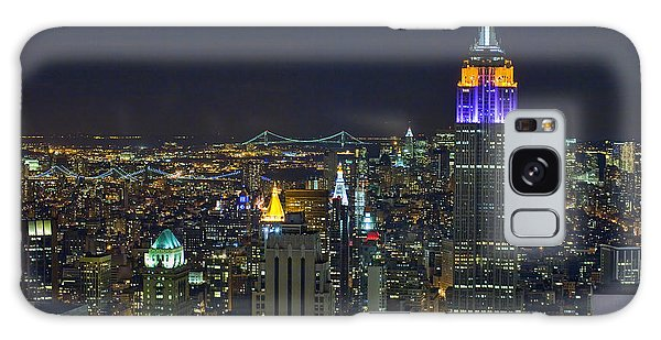 Empire State At Night Galaxy Case