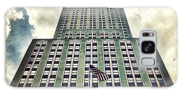 City Galaxy Case - Empire State by Luke Kingma