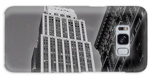 Skylines Galaxy Case - #empirestate #empire #usa #newyorker by Joel Lopez