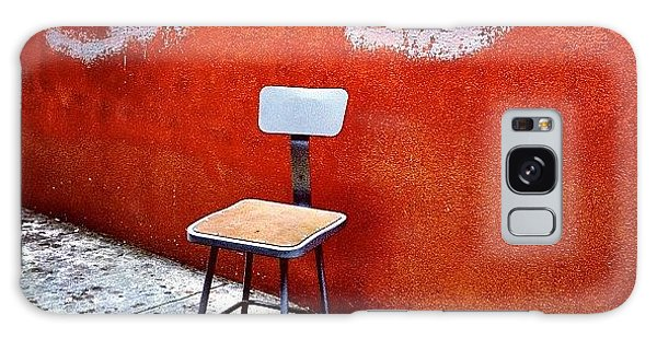 Place Galaxy Case - Empty Chair by Julie Gebhardt