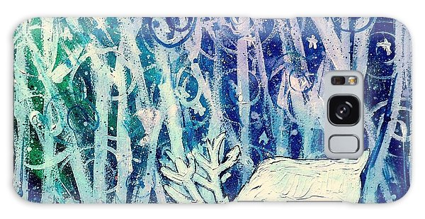 Enchanted Winter Forest Galaxy Case