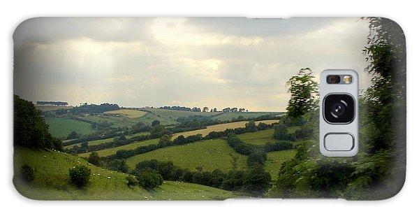 English Countryside Galaxy Case