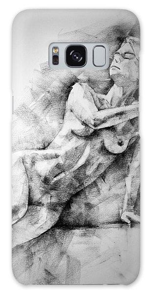 Erotic Sketchbook Page 2 Galaxy Case