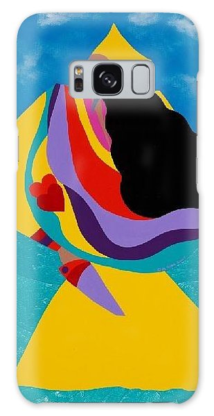 Voodoo Galaxy S8 Case - Erzulie Haitian Goddess Of Love by Synthia SAINT JAMES