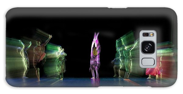 Escaping Dancers Galaxy Case