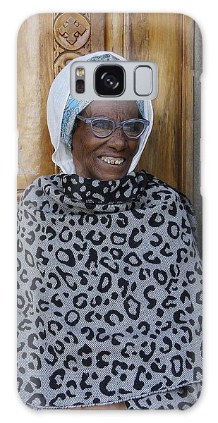 Ethiopia-south Orthodox Christian Woman Galaxy Case
