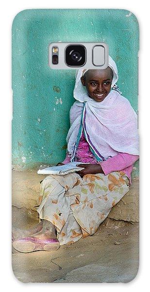 Ethiopia-south School Girl Galaxy Case