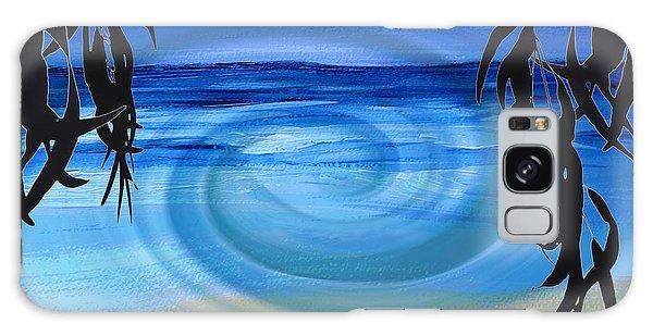 Eucalyptus Ocean View Galaxy Case